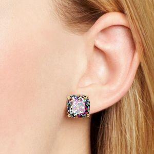 Kate Spade New York Square Glitter Stud Earrings